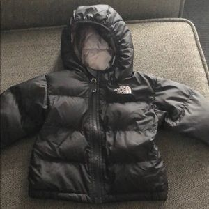 Baby north face 6-12 month winter coat